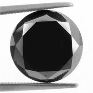 Black Diamond Loose Gemstone