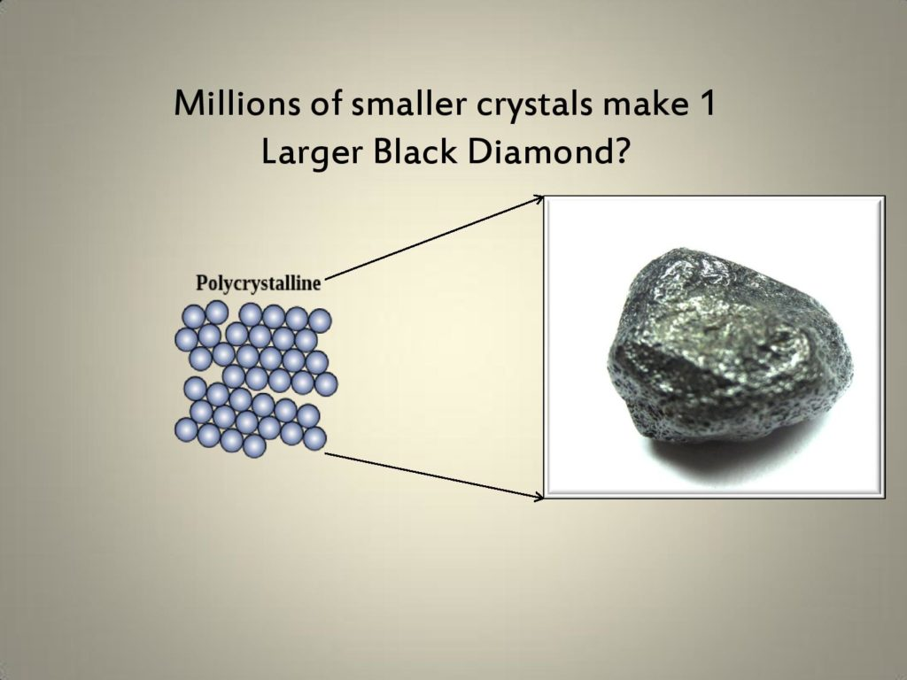 Black Diamond Formation, Facts about black diamonds