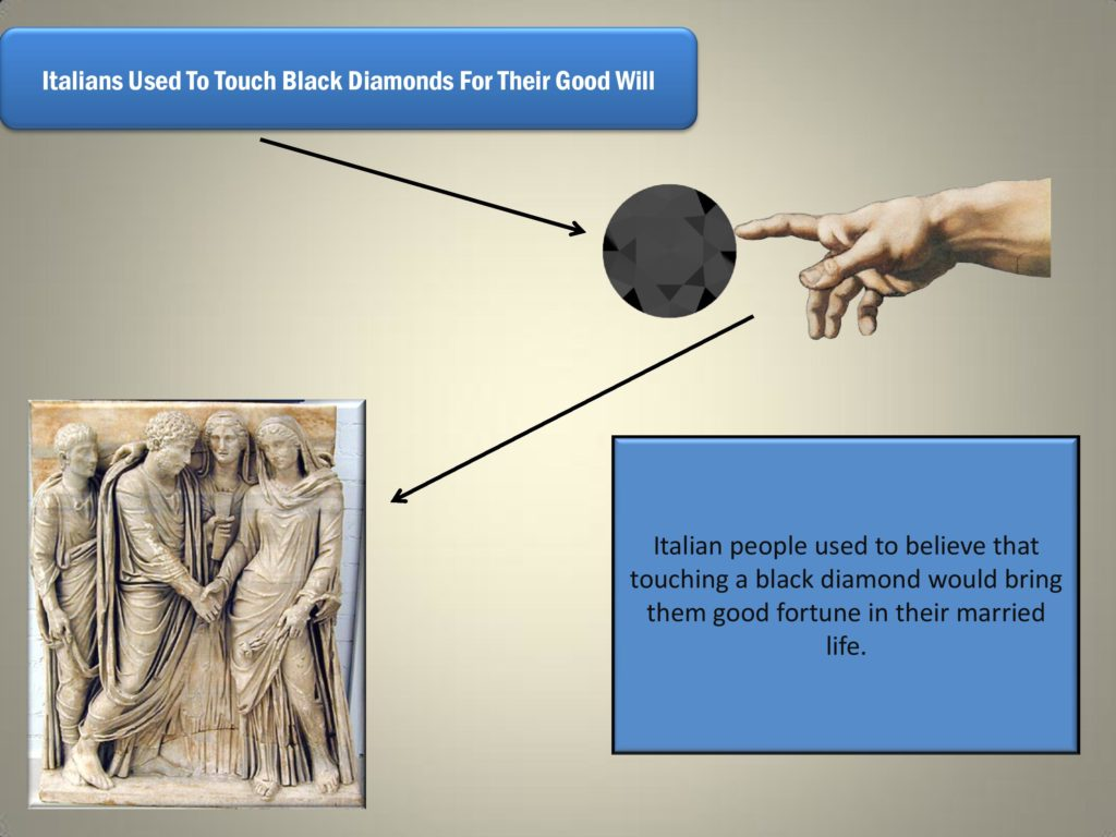 Black Diamonds In Ancient Italy, Facts About Black Diamonds