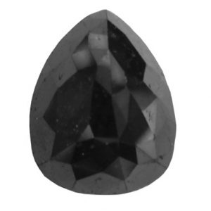 Black Diamond Teardrop Cut