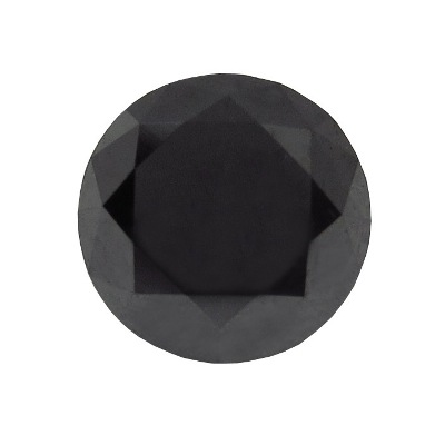loose brilliant cut black diamond