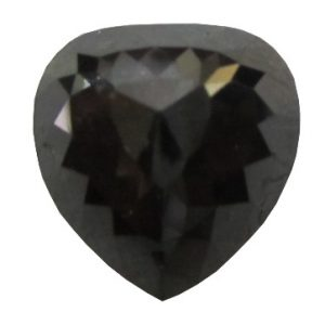 Flower Cut Pear Shape Black Diamond
