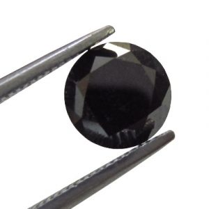 1.61 Ct natural loose black diamond