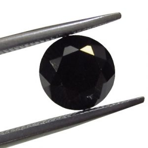 Finest Round Brilliant Cut Black Diamond