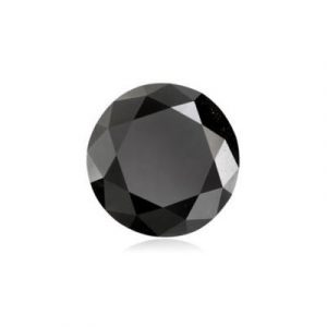 Loose Black Color Diamond Round