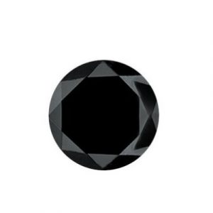 Loose Brilliant Cut Solitaire Black Diamond