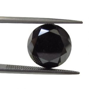 Natural Loose Solitaire Black Diamond