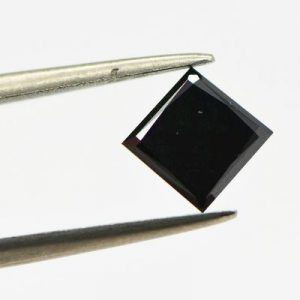 Square Shape Loose Black Diamond