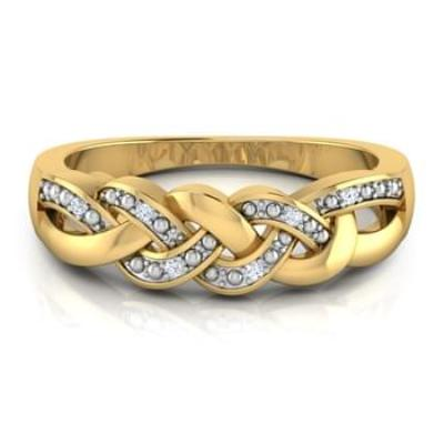 eternity twist ring