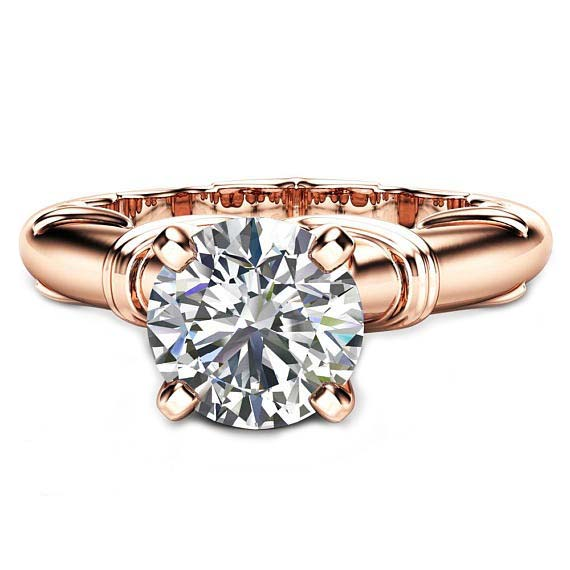 round cut victorian engagement ring5