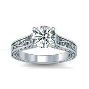 solitaire diamond engagement ring3