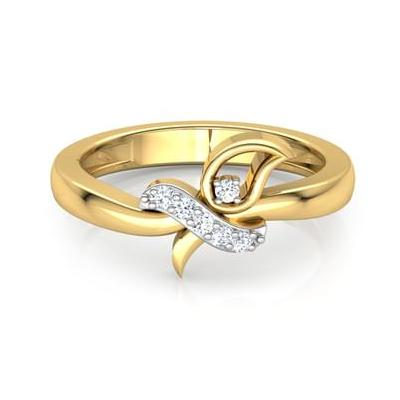 white diamond clutch love ring