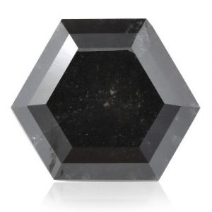 hexagonal shape black diamond