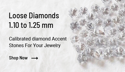 loose diamonds 1.10 to 1.25 mm