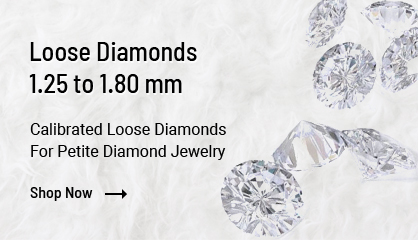 1.25 mm to 1.80 mm size loose diamonds
