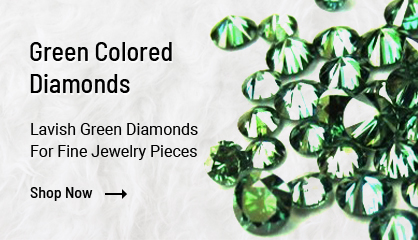 Green Colored Diamonds