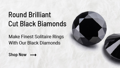 Round Brilliant Cut Black Diamonds