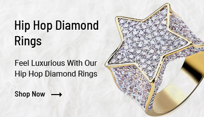Hip Hop Diamond Rings