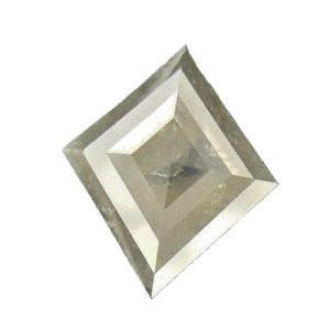 kite shaped loose rustic diamond