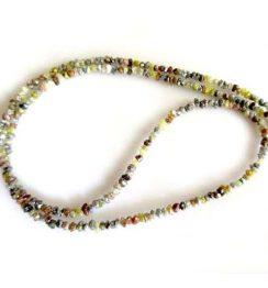 mix color uncut diamond beads