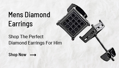 Mens Diamond Earrings