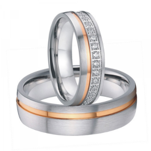 couple wedding band