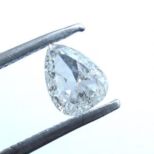 pear shaped salt and pepper diamond