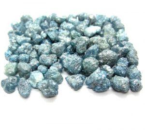 rough blue diamonds