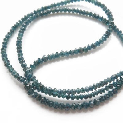 faceted blue diamond necklace