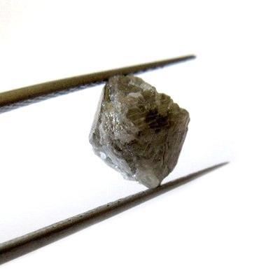 brown rough raw diamonds crystal