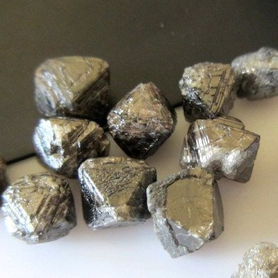 Brown Rough Raw Diamonds Crystal 25 00 Carat For Art Deco