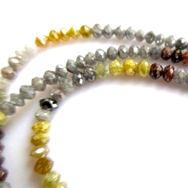 mix faceted diamond beads