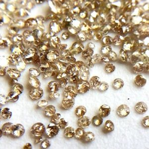 natural loose brown diamonds lot