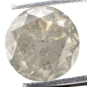 Round Cut Cloudy Diamond