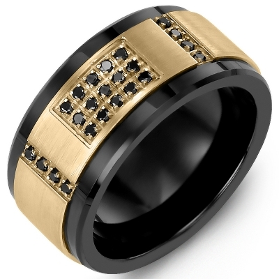 black diamond men's diamond band