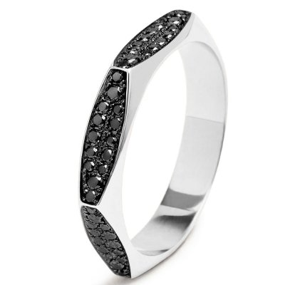 black diamond promise ring