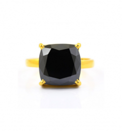 5ct black diamond ring