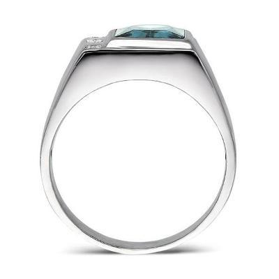 men's topaz ring