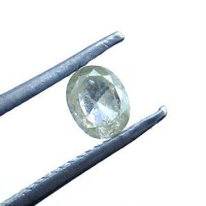 oval shape salt and pepper diamonds
