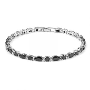 black diamond bracelet 14k