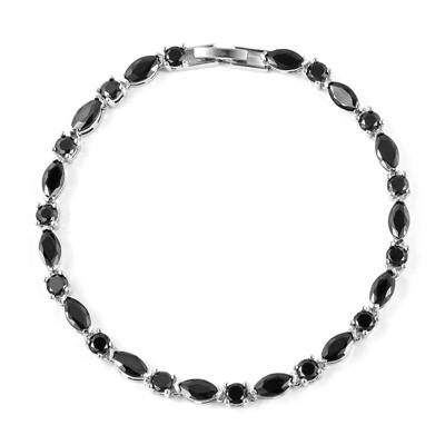 black diamond bracelet 14k