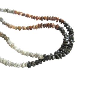 natural raw uncut diamond beads