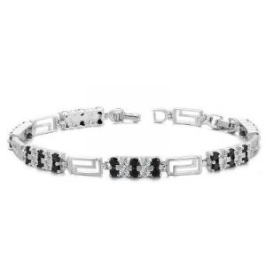 black diamond classic tennis bracelet