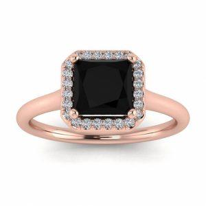 1.5 carat princess cut engagement ring