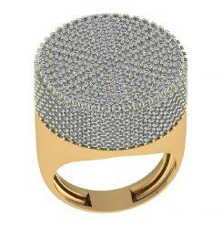 hip hop diamond rings for men