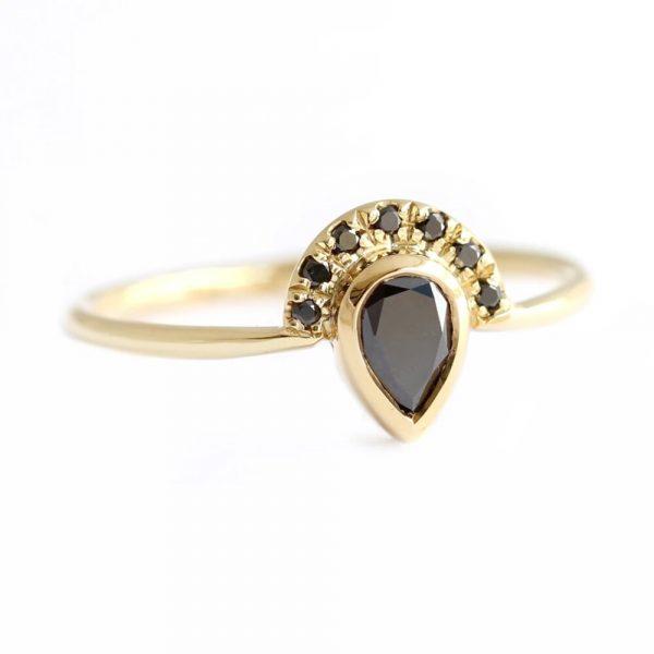 half halo ring
