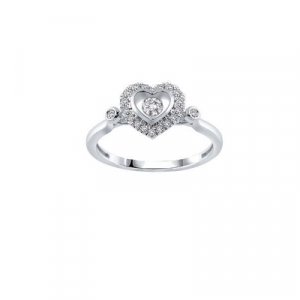 heart shape promise ring