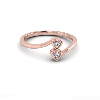 white diamond promise ring
