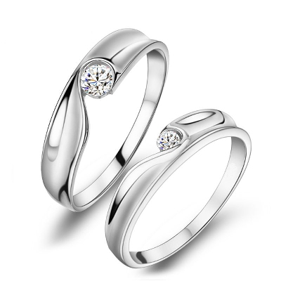 love heart promise ring