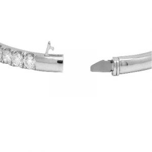 ladies bangle bracelet white diamonds